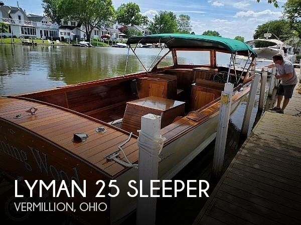 1963 Lyman 25 Sleeper
