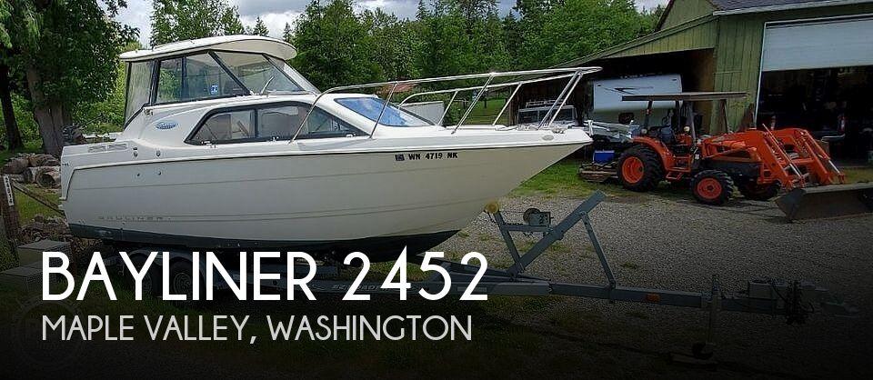 Used Bayliner Boats For Sale in Washington by owner | 2001 Bayliner 2452 Cierra