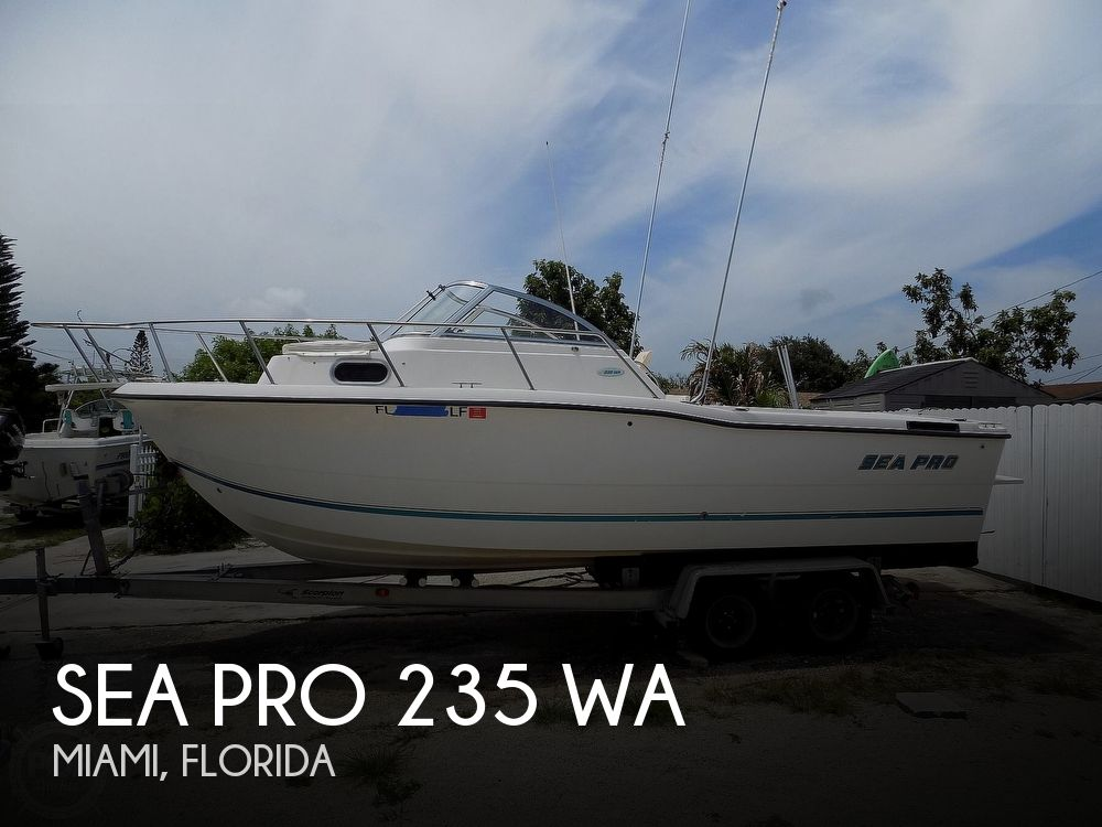 2000 SEA PRO 235 WA for sale