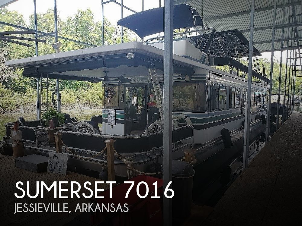 1993 SUMERSET HOUSEBOATS 7016 for sale