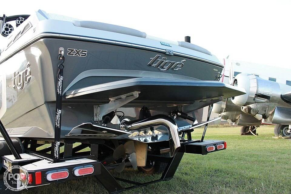 2019 Tige boat for sale, model of the boat is ZX5 & Image # 14 of 20