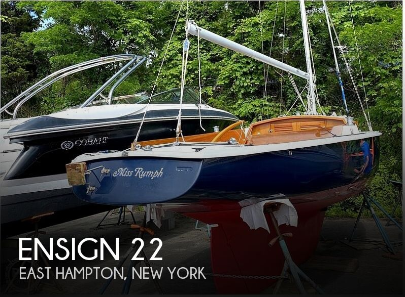 1982 Ensign boat for sale, model of the boat is 22 & Image # 1 of 8