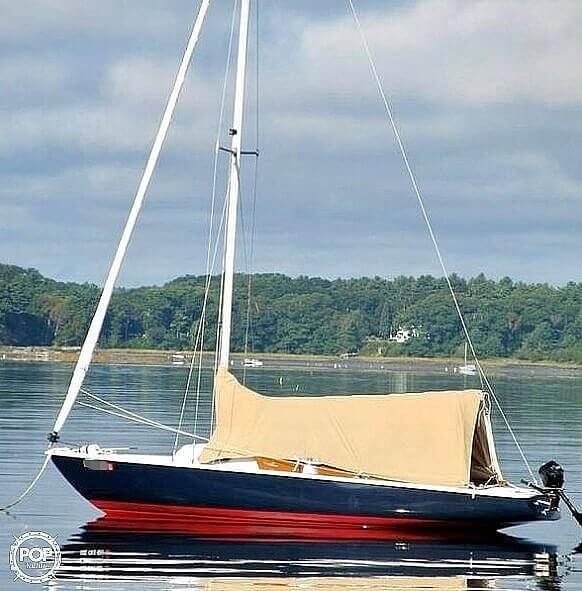 1982 Ensign boat for sale, model of the boat is 22 & Image # 6 of 8