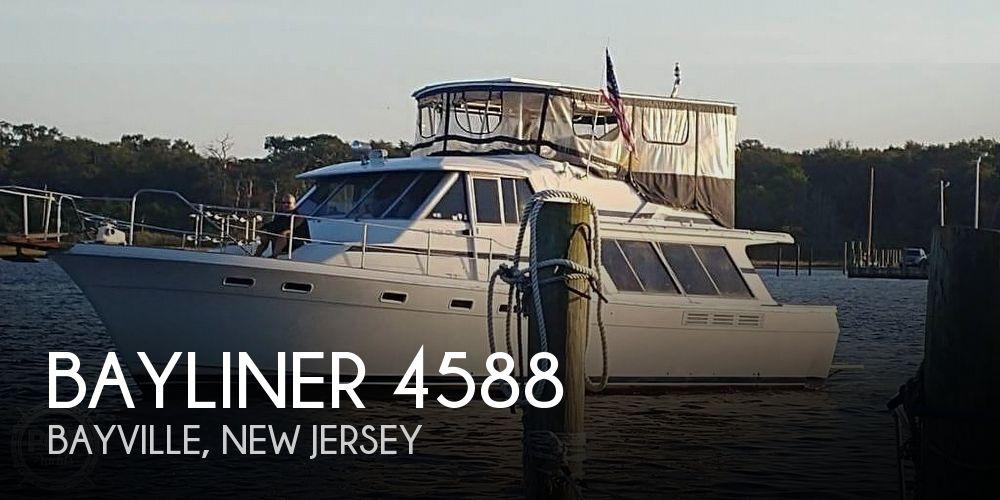 Used Bayliner Motoryachts For Sale by owner | 1988 Bayliner 45