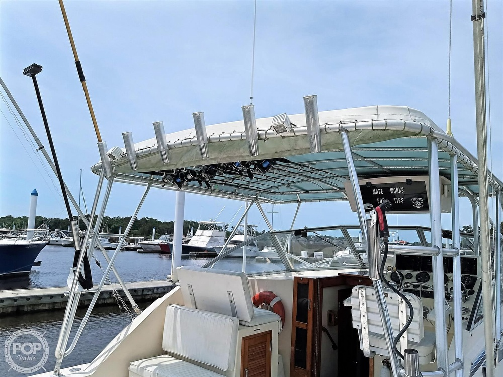 1989 Atlantic boat for sale, model of the boat is 34 Express & Image # 20 of 40