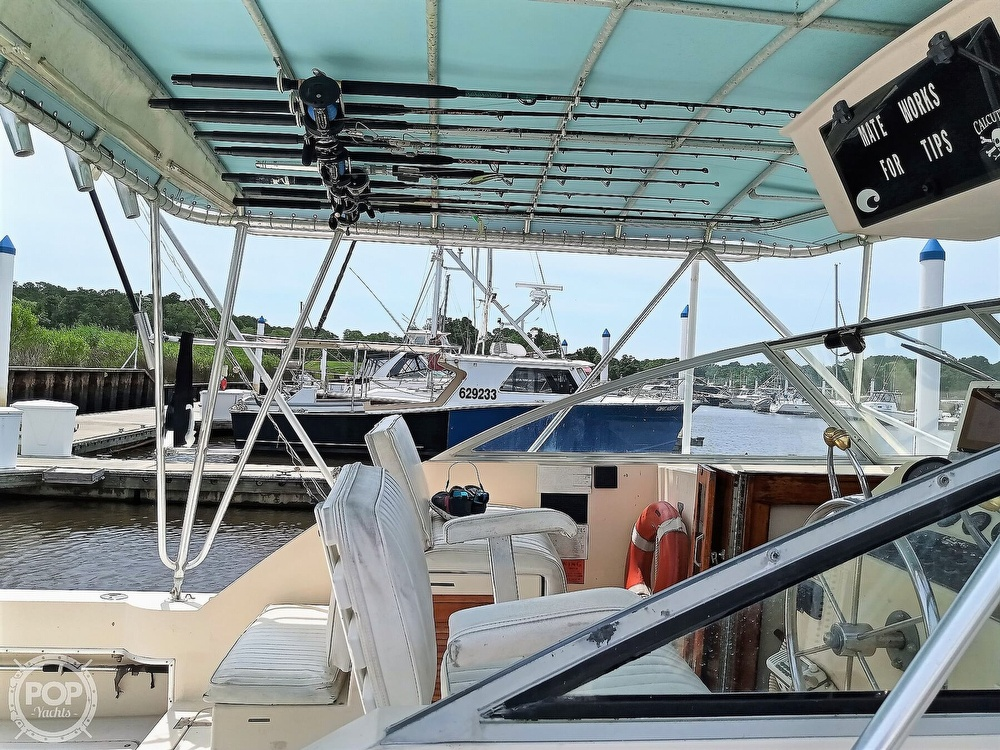 1989 Atlantic boat for sale, model of the boat is 34 Express & Image # 22 of 40