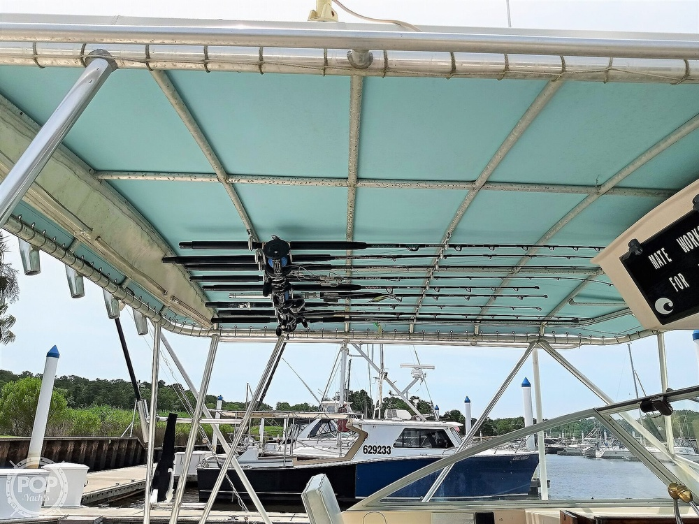 1989 Atlantic boat for sale, model of the boat is 34 Express & Image # 23 of 40