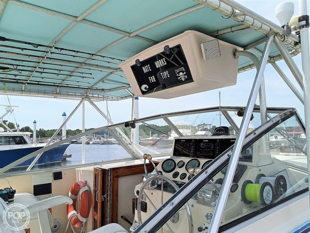 1989 Atlantic boat for sale, model of the boat is 34 Express & Image # 24 of 40