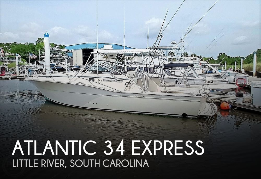 1989 Atlantic boat for sale, model of the boat is 34 Express & Image # 1 of 40