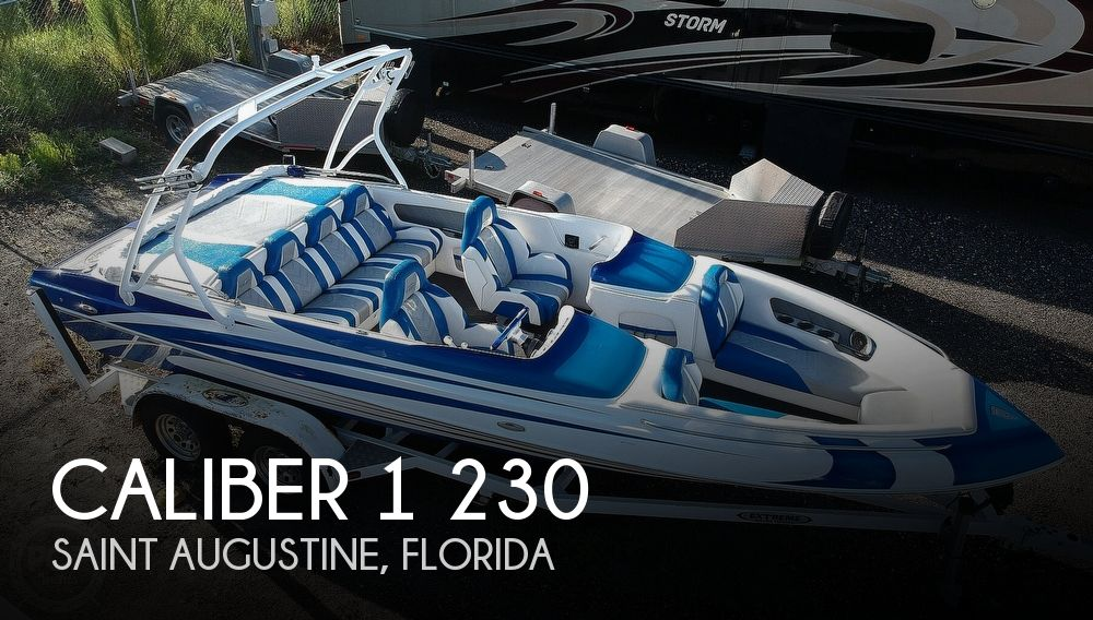 2016 Caliber 1 boat for sale, model of the boat is 230 Velocity & Image # 1 of 40