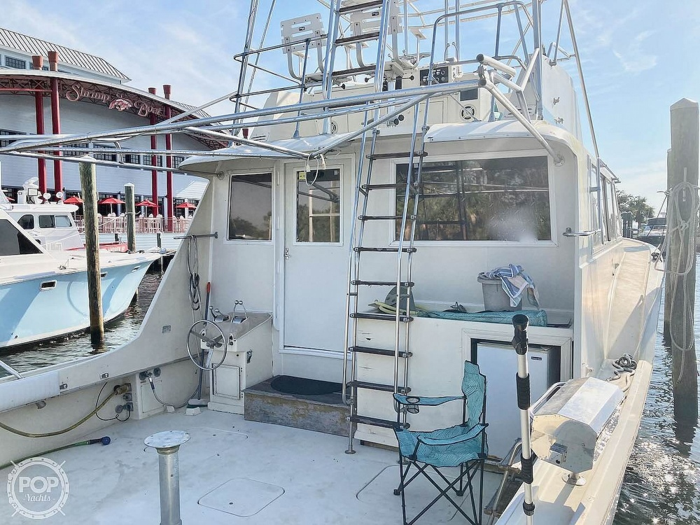 1974 Hatteras boat for sale, model of the boat is 53 Convertible & Image # 38 of 40