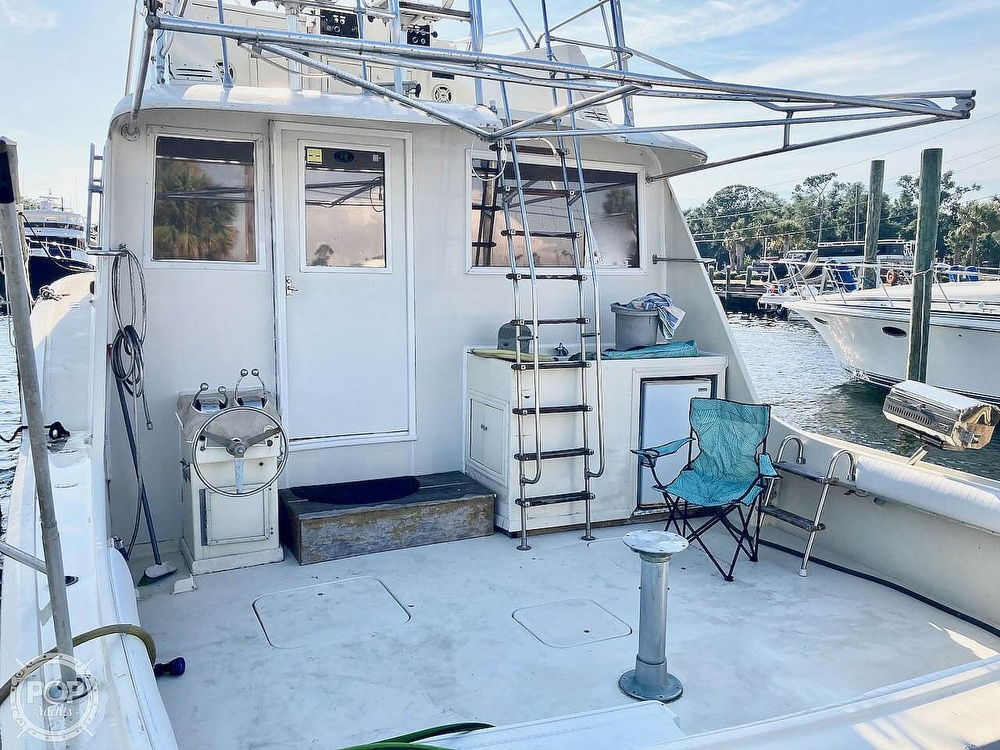 1974 Hatteras boat for sale, model of the boat is 53 Convertible & Image # 37 of 40