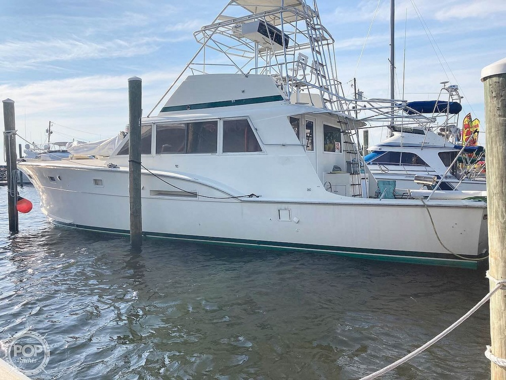 1974 Hatteras boat for sale, model of the boat is 53 Convertible & Image # 5 of 40