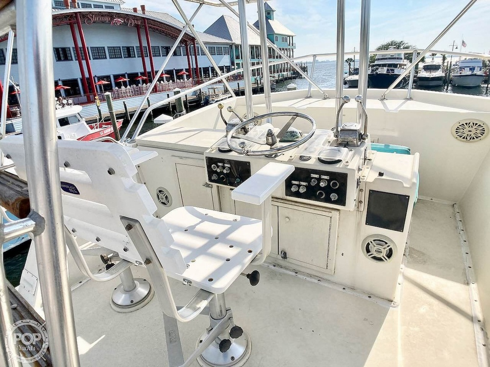 1974 Hatteras boat for sale, model of the boat is 53 Convertible & Image # 2 of 40