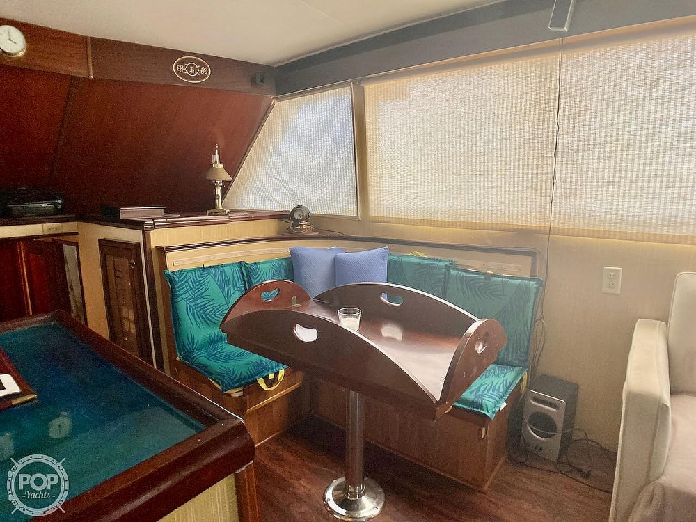 1974 Hatteras boat for sale, model of the boat is 53 Convertible & Image # 4 of 40
