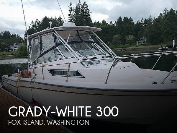 Used Grady-White Boats For Sale in Washington by owner | 1998 30 foot Grady-White Marlin