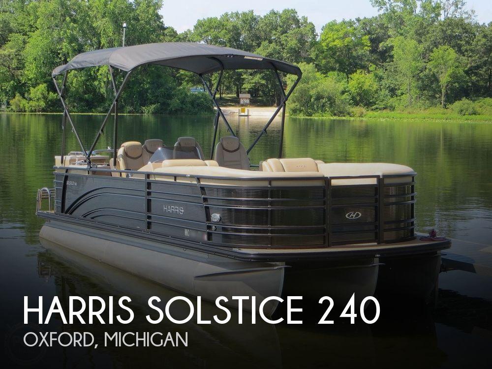 2018 HARRIS SOLSTICE 240 for sale