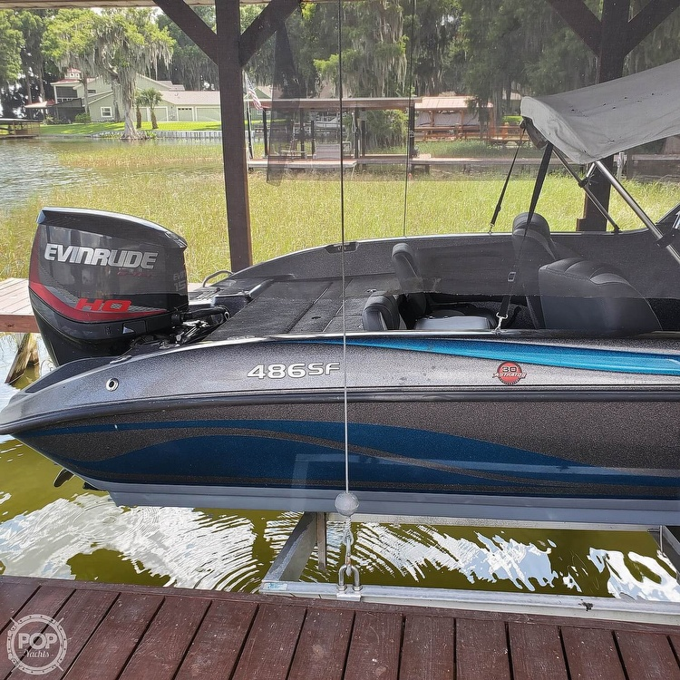 2014 Stratos boat for sale, model of the boat is 486FS & Image # 6 of 41