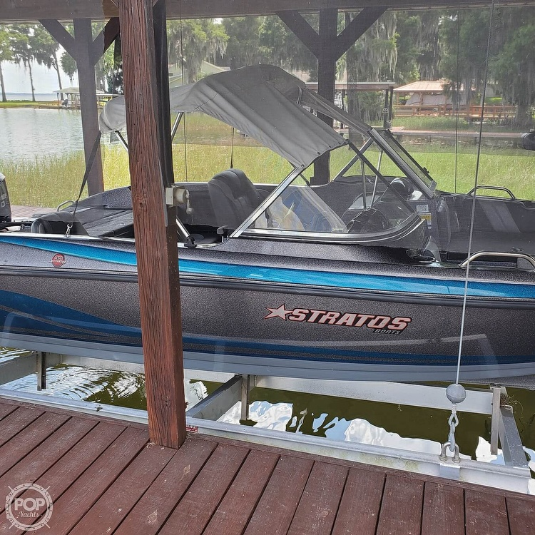 2014 Stratos boat for sale, model of the boat is 486FS & Image # 7 of 41