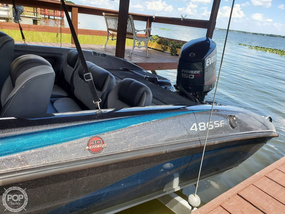 2014 Stratos boat for sale, model of the boat is 486FS & Image # 13 of 41