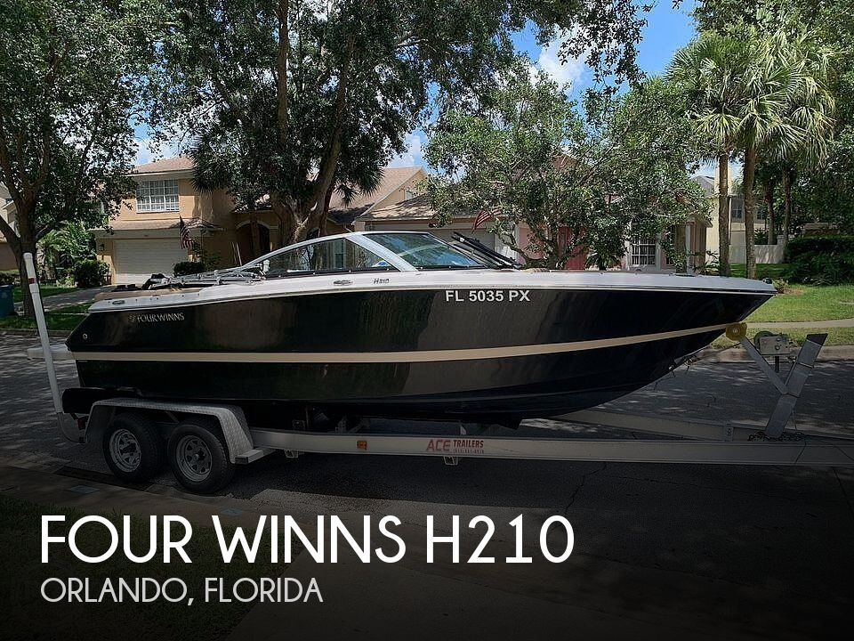 Used FOUR WINNS Ski Boats For Sale by owner | 2014 Four Winns H210