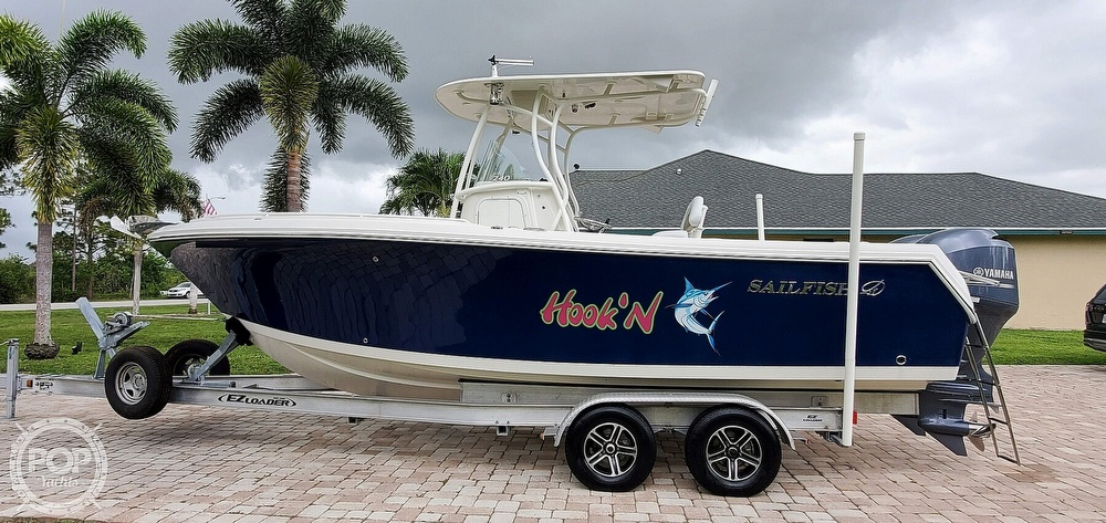 2015 Sailfish boat for sale, model of the boat is 240 CC & Image # 10 of 40