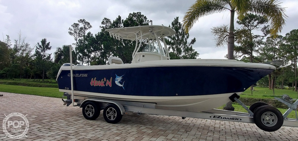 2015 Sailfish boat for sale, model of the boat is 240 CC & Image # 15 of 40