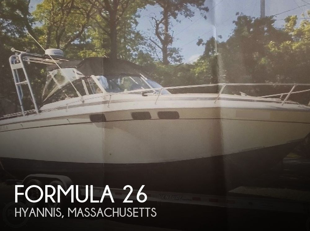 1981 Formula boat for sale, model of the boat is Thunderbird 26 & Image # 1 of 8
