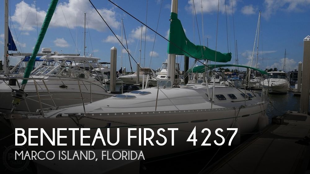 1995 Beneteau boat for sale, model of the boat is First 42S7 Shoal & Image # 1 of 40