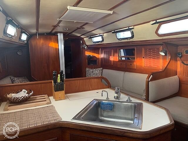 1987 Sabre boat for sale, model of the boat is 42 & Image # 4 of 40