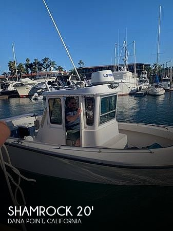 Used Shamrock Boats For Sale by owner | 1998 20 foot Shamrock Pilothouse