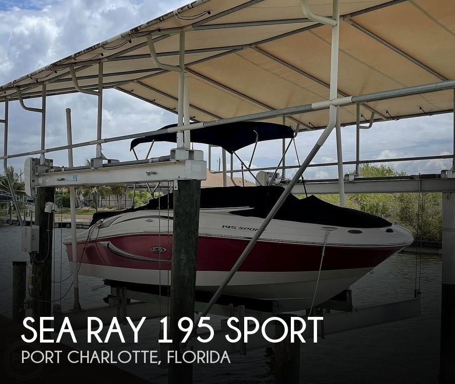 2011 Sea Ray boat for sale, model of the boat is 195 Sport & Image # 1 of 40