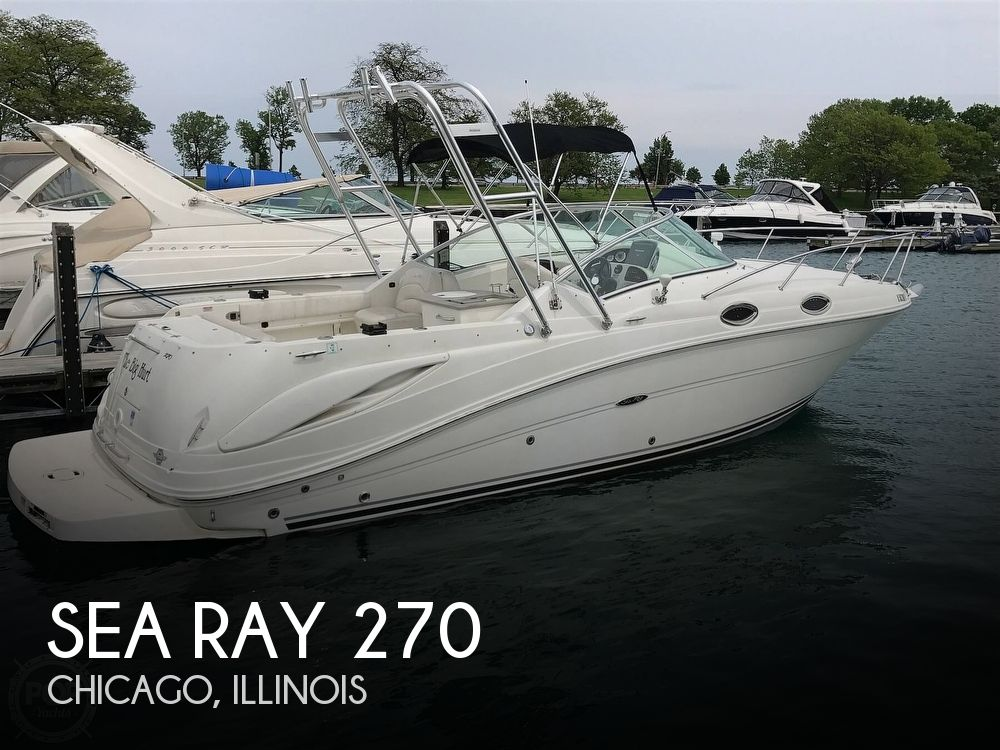 2005 Sea Ray boat for sale, model of the boat is 270 Amberjack & Image # 1 of 40