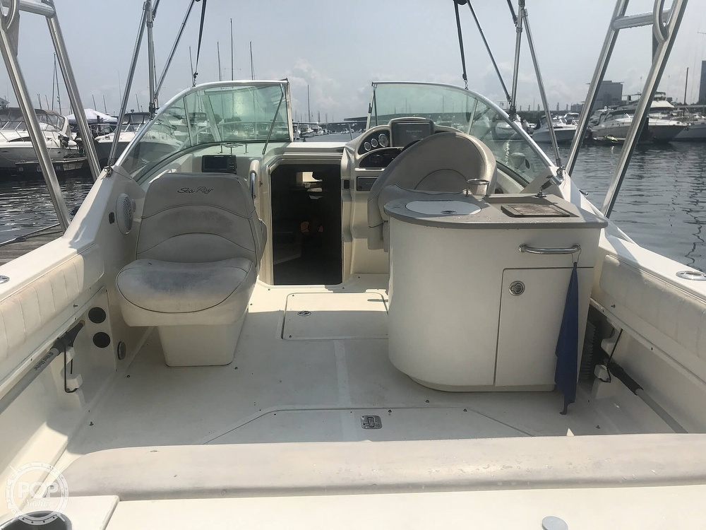2005 Sea Ray boat for sale, model of the boat is 270 Amberjack & Image # 6 of 40