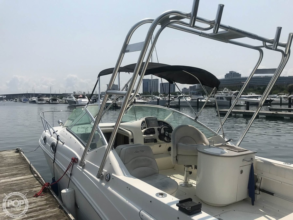 2005 Sea Ray boat for sale, model of the boat is 270 Amberjack & Image # 4 of 40