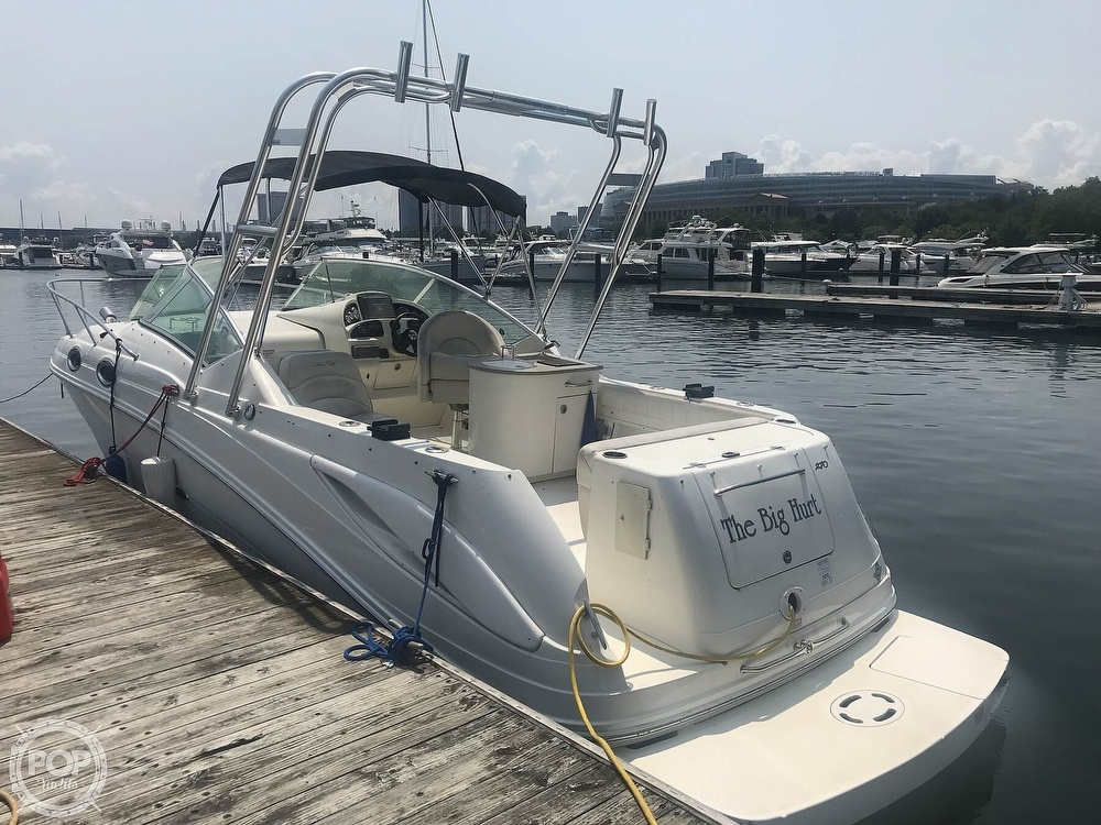 2005 Sea Ray boat for sale, model of the boat is 270 Amberjack & Image # 3 of 40
