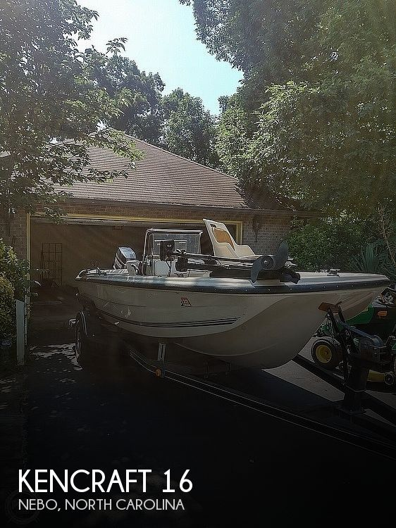 1992 Kencraft boat for sale, model of the boat is 16 & Image # 1 of 6