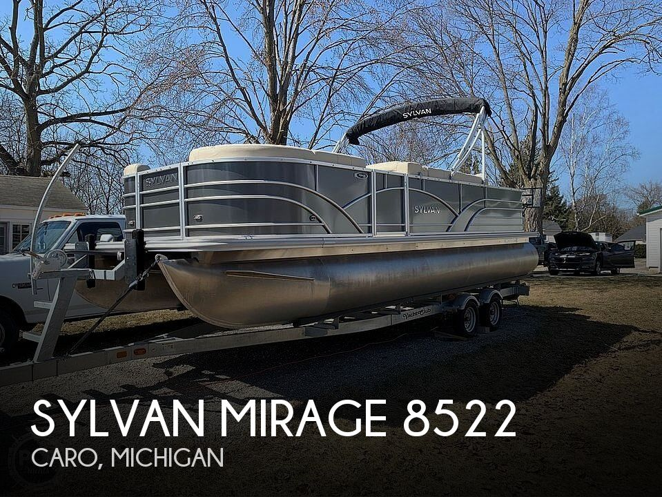 Used Sylvan Boats For Sale in Michigan by owner | 2019 Sylvan Mirage 8522