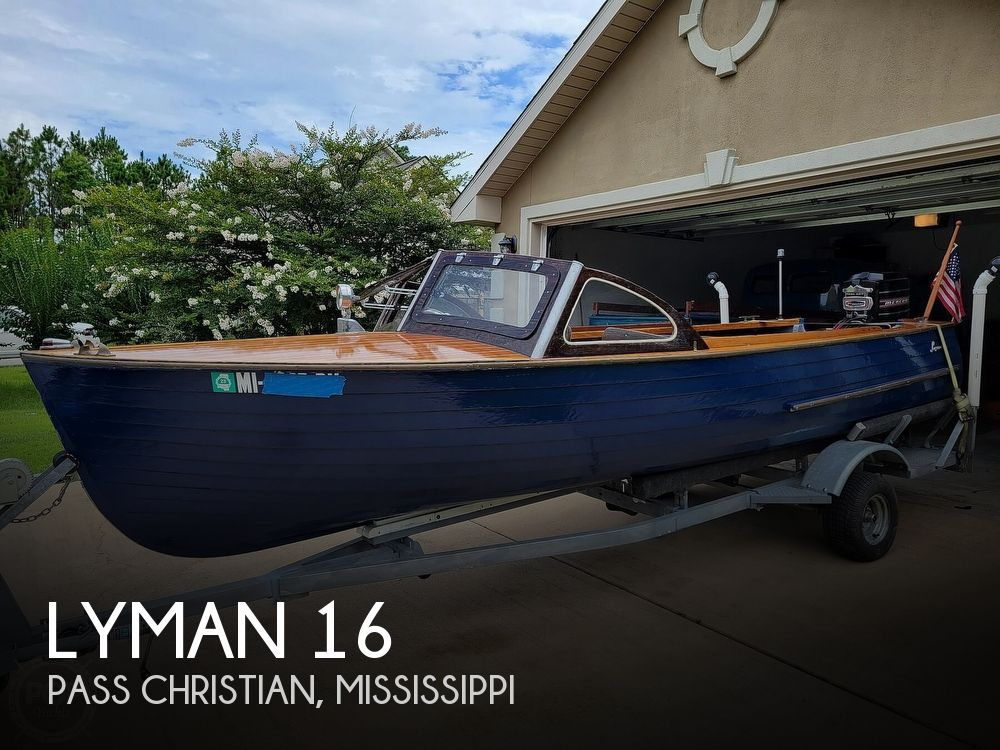 1959 Lyman boat for sale, model of the boat is 16 & Image # 1 of 40