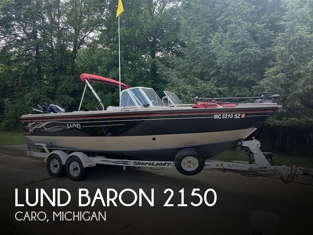 Used Fishing boats For Sale in Michigan by owner   2000 Lund Baron 2150