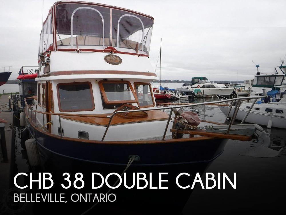 1979 CHB boat for sale, model of the boat is 38 Double Cabin & Image # 1 of 40