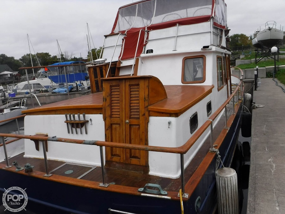 1979 CHB boat for sale, model of the boat is 38 Double Cabin & Image # 2 of 40