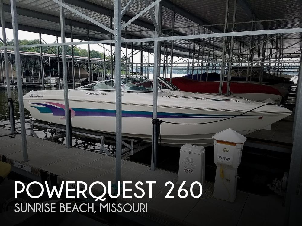 1998 Powerquest boat for sale, model of the boat is 260 Legend SLS & Image # 1 of 40
