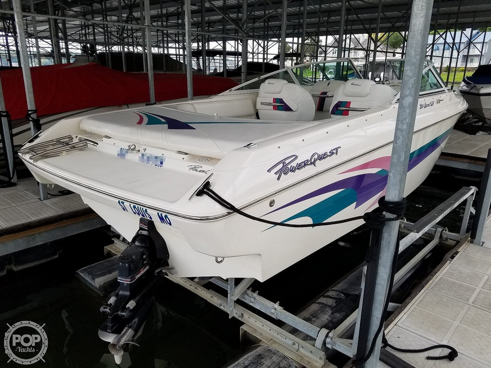 1998 Powerquest boat for sale, model of the boat is 260 Legend SLS & Image # 6 of 40