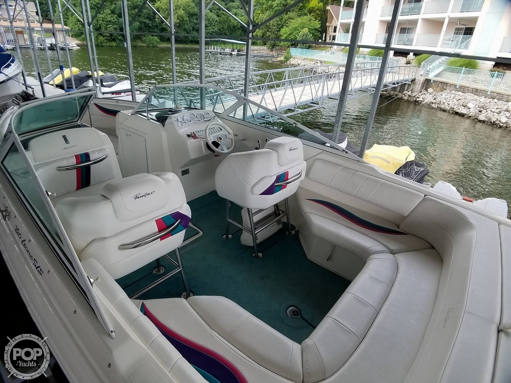 1998 Powerquest boat for sale, model of the boat is 260 Legend SLS & Image # 8 of 40