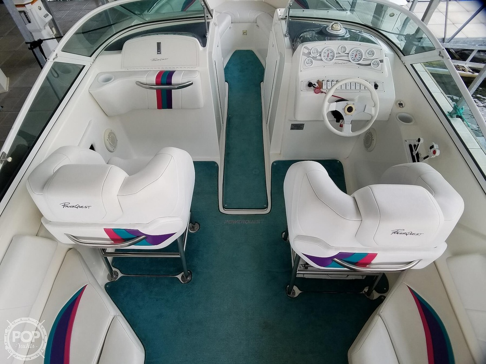 1998 Powerquest boat for sale, model of the boat is 260 Legend SLS & Image # 23 of 40
