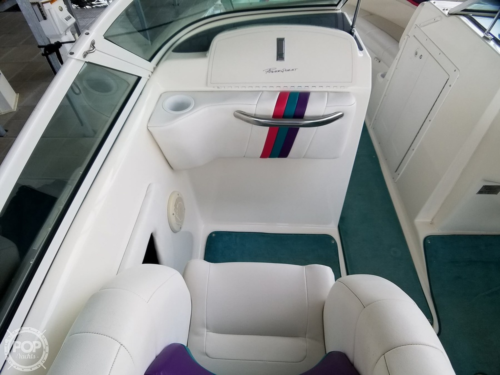 1998 Powerquest boat for sale, model of the boat is 260 Legend SLS & Image # 25 of 40