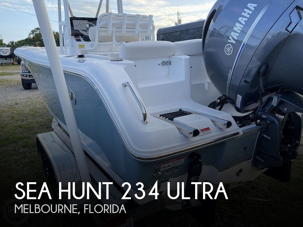 Used Power boats For Sale in Palm Bay, Florida by owner | 2021 Sea Hunt 234 Ultra