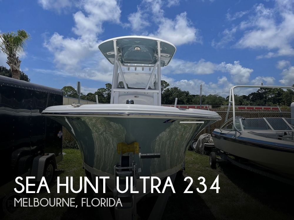 2021 Sea Hunt boat for sale, model of the boat is Ultra 234 & Image # 1 of 40