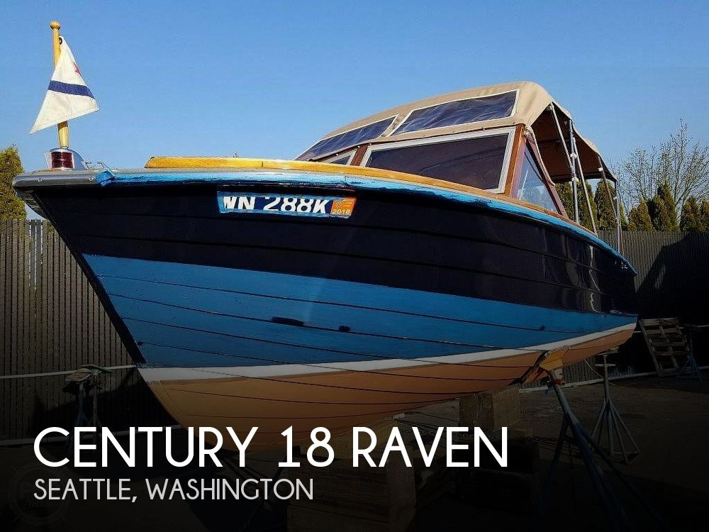 Used Century Boats For Sale in Washington by owner | 1964 Century 18 Raven